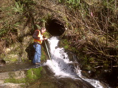 Chain-up Creek culvert