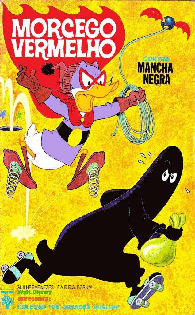 Morcego Vermelho contra Mancha Vegra