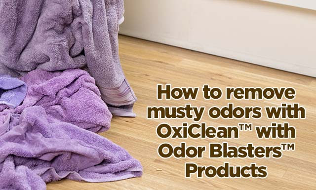 How To Get Mildew Smell Out Clothes
