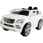 Rollplay Kids' Ride on 6V Mercedes-Benz GL450 SUV - White