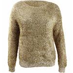 Rachel Rachel Roy Women's Plus Size Dehlia Sweater (3X, Gold)