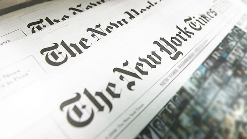 NEW YORK TIMES CONCERNED OVER THREATS TO JOURNALISTS