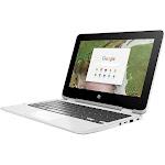 HP x360 11-ae110nr 11.6″ Convertible Chromebook - Celeron N3350 1.1 GHz - 4 GB RAM - 32 GB SSD - Snow White