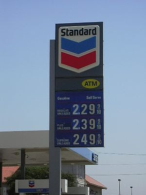 "One of 16 Chevron stations branded as ""St..."
