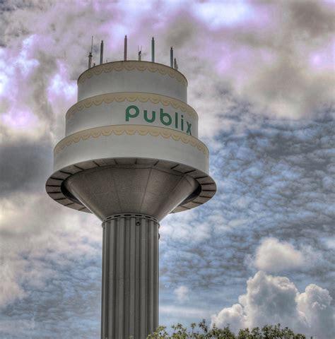 Publix Birthday Cake Water Tower   Lakeland, FL   This