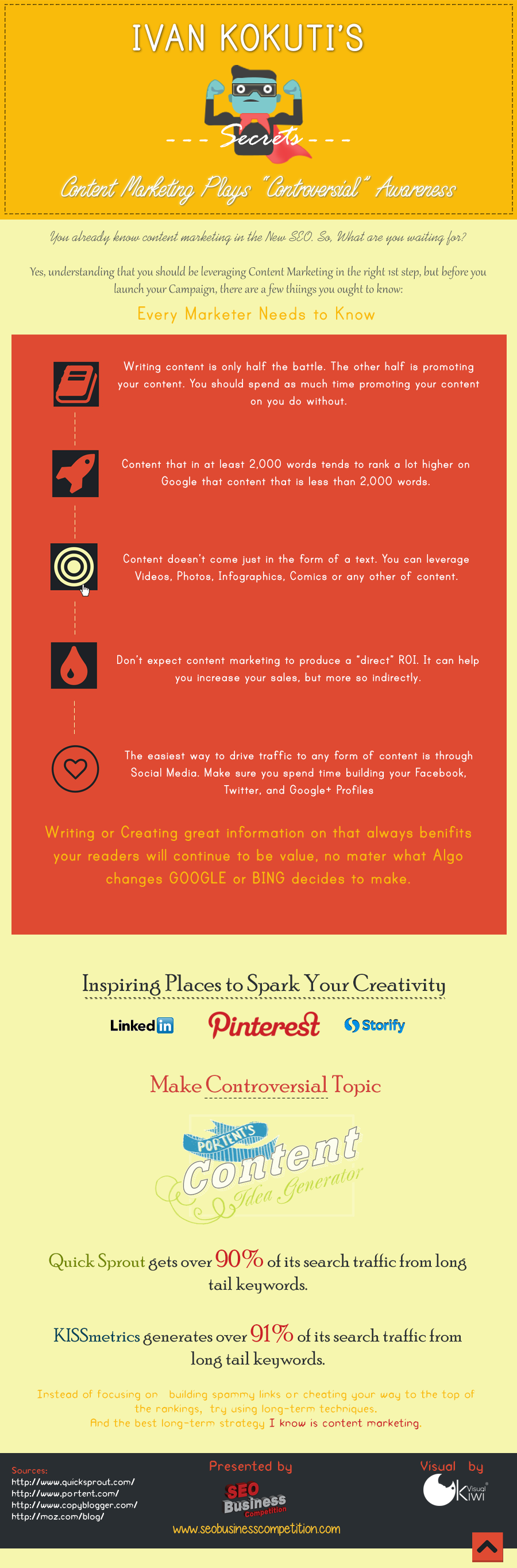 Infographic: Content Marketing Plays 'Controversial' Awareness #infographic