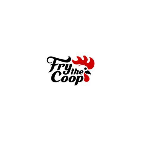 fried chicken logo  fry  coop logo design contest