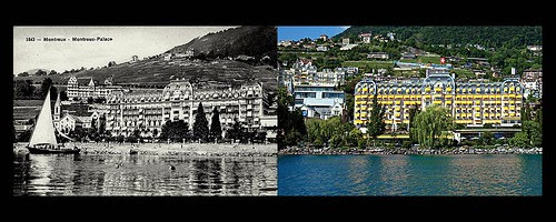 Fairmont Le Montreux Palace Hotel, Montreux - Then&Now by Historic Hotels of the World - Then&Now