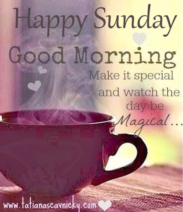 Happy Sunday Good Morning Make It Special Pictures Photos And