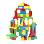 Wooden Blocks (100 Pieces) (Ages 3+)