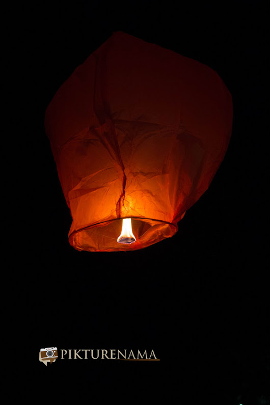 Sky Lanterns - our first time with Tugga | Pikturenama