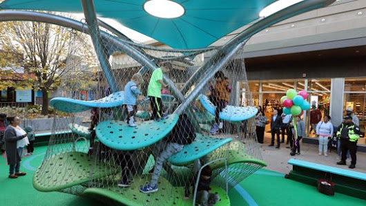 Video: Cross County Shopping Center gets new playground