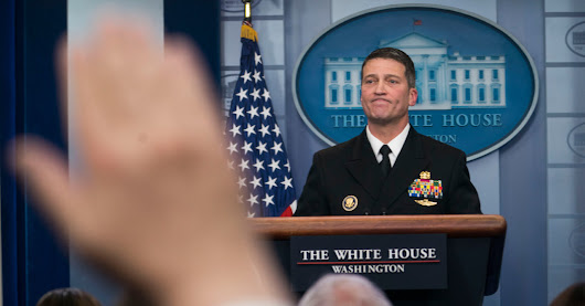 Ronny Jackson, Trump's V.A. Nominee, Faces Claims of Overprescription and Hostile Work Environment - The New York Times