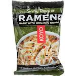 Koyo Dry Ramen - Garlic Pepper - 2.1 oz - case of 12