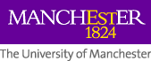 Logo of The University of Manchester, established 1824, links to University home page