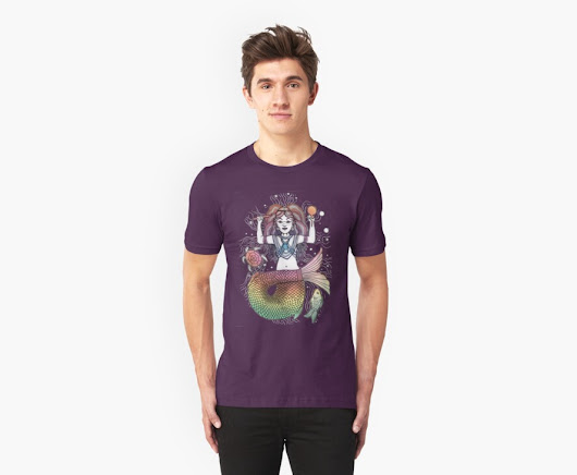 'oceanid' T-Shirt by pixelwolf