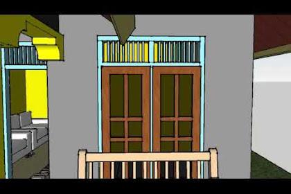 Rumah Tipe 45, 3 Kamar Tidur dan Tambahan Dapur 4×7