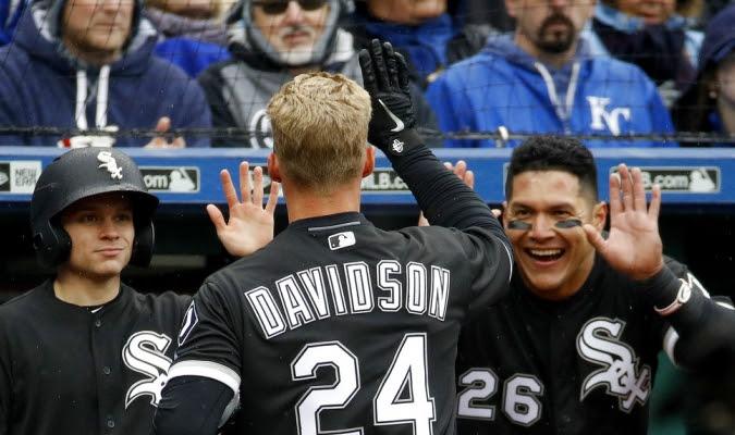 Davidson empezó con fuerza / Foto AP