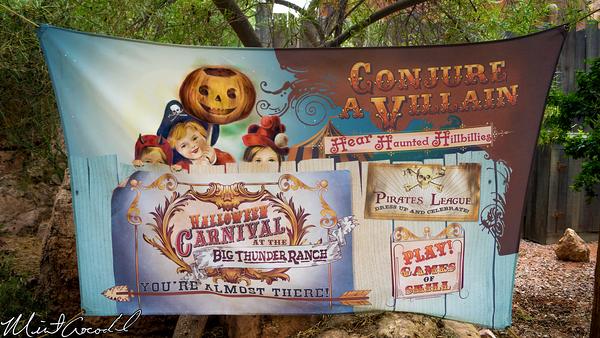Disneyland Resort, Disneyland, Big Thunder Ranch, Halloween Carnival, Halloween Time