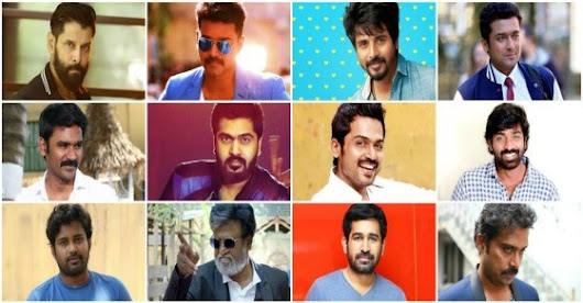 Best Tamil Actor of 2016 | Top Tamil Actor 2016 | Best Actor in Tamil Movies 2016 - FilmiBeat
