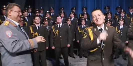 Russian Red Army Choir Delivers Most Unlikely 'Happy' Cover We've Seen Yet