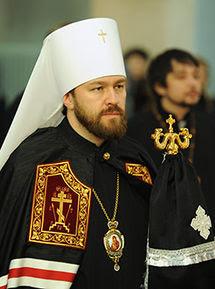 The Most Reverend Metropolitan Hilarion (Alfeyev) of Volokolamsk.