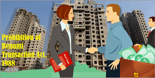 All you want to know about Benami Property Transactions
