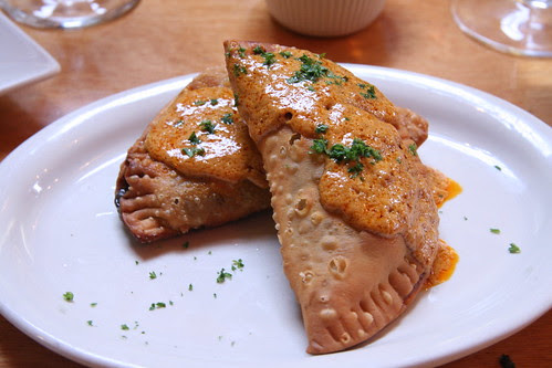 Phlight Restaurant, Whittier, CA - Empanadas