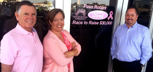 Paso Robles Ford campaign to raise funds for Cancer Support Community - Paso Robles Daily News