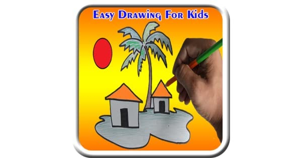 Tree Plantation Drawing Easy For Kids