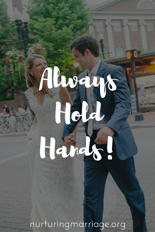 Always Hold Hands!