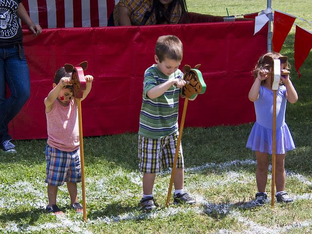 Kids Day horse race
