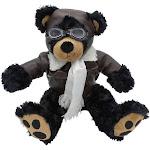 """14"""" Plush Black Bear"""
