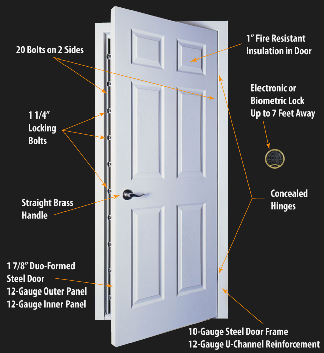 Prosteel Ultra Security Door