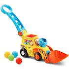 VTech Pop A Balls Push Pop Bulldozer