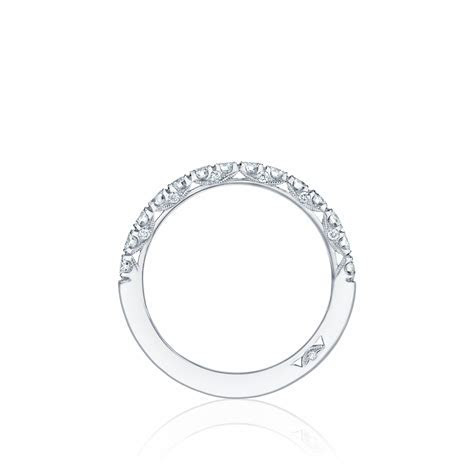 Petite Crescent diamond wedding band     DK Gems