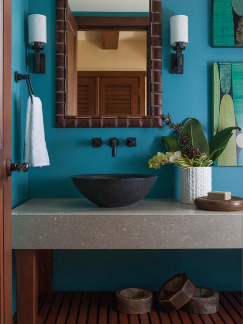 Four Seasons Vacation Home - tropical - bathroom - hawaii - by