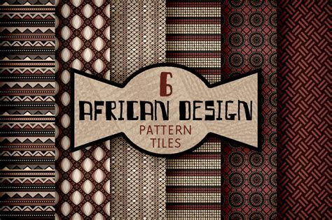African Textile Design Pattern Tiles ~ Patterns on