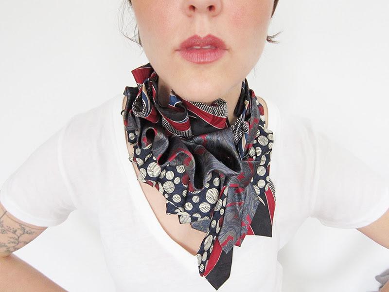 галстук/платок, МОДНЫЙ ГАРДЕРОБ, разное,