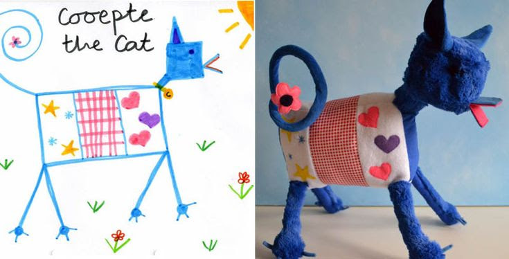 turn kids childrens drawings into plush toys dolls (14)