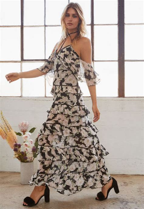 Multi Layered Dress Now In 2018 Spring/Summer Trend