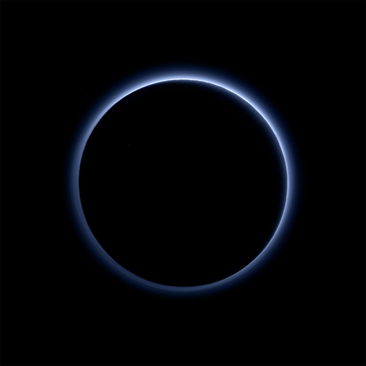 Pluto Has Blue Skies And Water Ice, NASA Announces