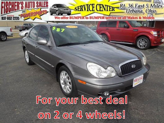 Used 2004 Hyundai Sonata for Sale in Urbana OH 43078 Fischer's Auto Sales & Powersports