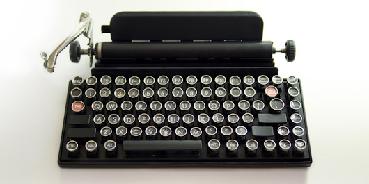 This USB Keyboard Will Bring Back The Nostalgic Clicks Of A Vintage Typewriter