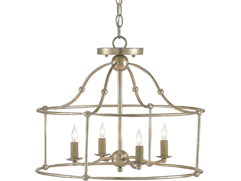 Currey And Company Lamps And Lighting Fitzjames Pendantsemi Flush