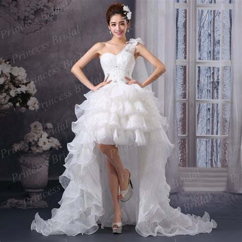 Aliexpress.com : Buy Asymmetrical Wedding Dress Front