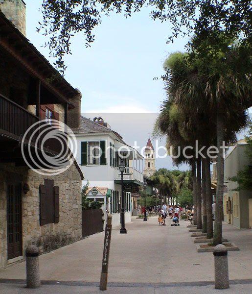 St Augustine Beach in Florida