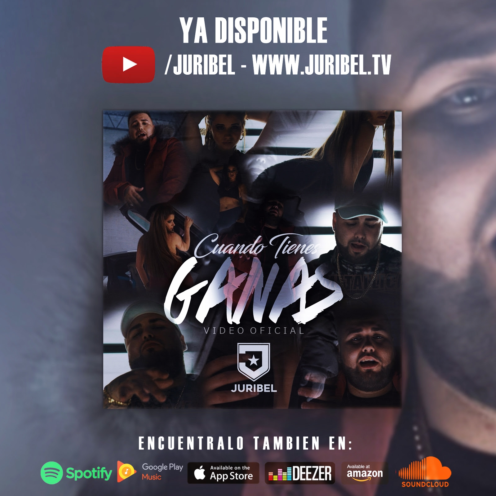 Disponible Juribel Cuando Tienes Ganas Video Oficial