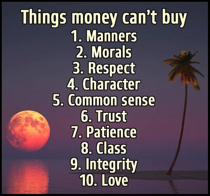 Things Money Cant Buy Pictures Photos And Images For Facebook