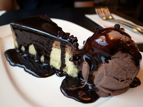 cake, chocolate, food, ice cream
